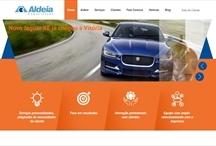 Aldeia Web: Website criado pela ALDABRA