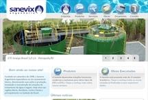 Sanevix: Website criado pela ALDABRA