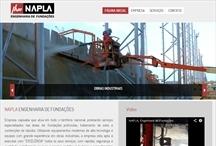 Napla: Website criado pela ALDABRA
