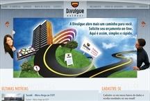 Divulgue Outdoor: Website criado pela ALDABRA