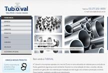 Tuboval: Website criado pela ALDABRA