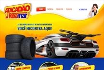 Atacadão J Ribamar: Website criado pela ALDABRA