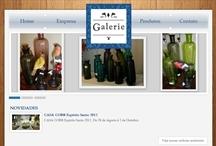 Galerie: Website criado pela ALDABRA