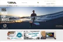 Cabana do Surf: Website criado pela ALDABRA