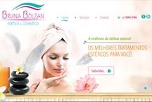 Bruna Bolzan: Website criado pela ALDABRA