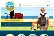 Hostel Onça da Praia: Website criado pela ALDABRA