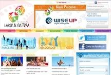 Lazer e Cultura: Website criado pela ALDABRA
