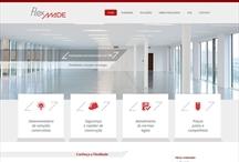 Flexmade: Website criado pela ALDABRA