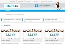 Inform-ex: Website criado pela ALDABRA