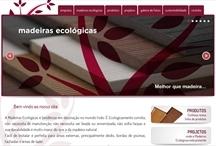 Madeiras Ecológicas: Website criado pela ALDABRA