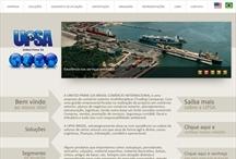 UPSA Brasil: Website criado pela ALDABRA
