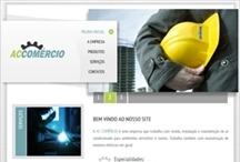 ACComércio: Website criado pela ALDABRA