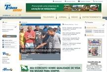Rede Tribuna: Website criado pela ALDABRA