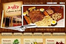 Cabana do Luiz: Website criado pela ALDABRA
