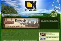 Ok Produções: Website criado pela ALDABRA