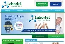 Labortel: Website criado pela ALDABRA