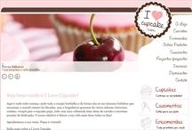 I Love Cup Cake: Website criado pela ALDABRA