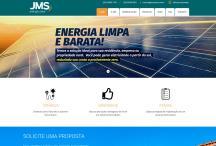 JMS Solar: Website criado pela ALDABRA