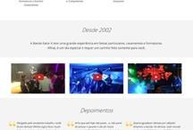 Banda Fator X: Website criado pela ALDABRA