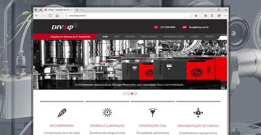 Criação de sites - Diveq