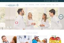 Instituto Salutare: Website criado pela ALDABRA