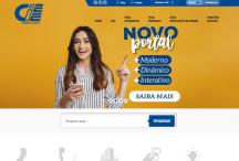 CIEE - ES: Website criado pela ALDABRA