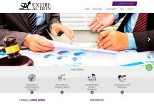 Entire Action: Website criado pela ALDABRA