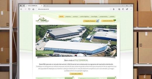 Criação de sites - Stile Comercial
