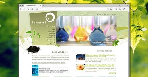 Criação de sites - Tommasi Analítica
