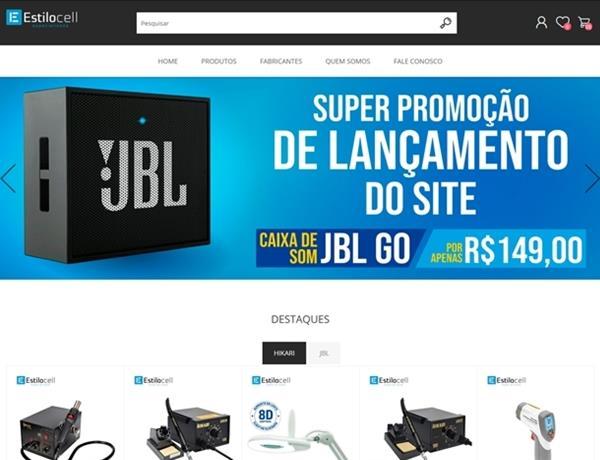 e-commerce - Estilo Cell