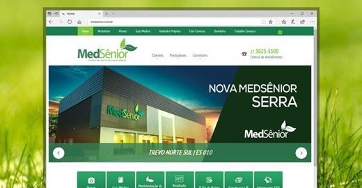 Criação de sites - MedSênior