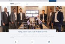 Elev Investimentos: Website criado pela ALDABRA