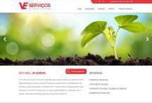 VE Serviços: Website criado pela ALDABRA