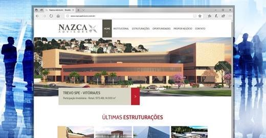 Criação de sites - Nazca Advisors