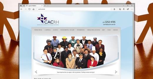 Criação de sites - CAC RH - Centro de análise do comportamento