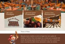 Terra à Vista: Website criado pela ALDABRA