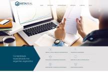 Meta Real: Website criado pela ALDABRA