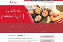 Vidaplan: Website criado pela ALDABRA