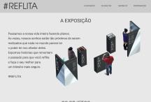 Exposição Reflita: Website criado pela ALDABRA