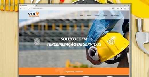 Criação de sites - Vix Serviços