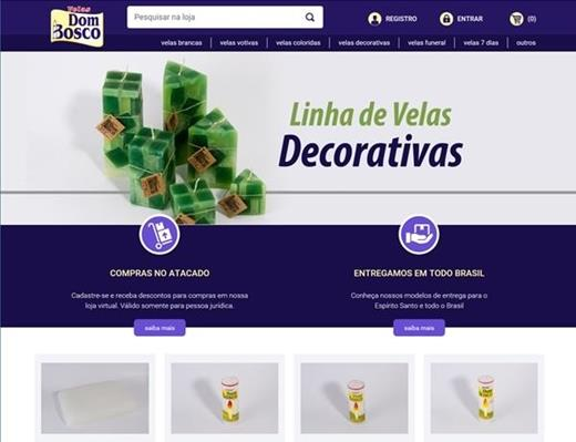 e-commerce - Velas Dom Bosco