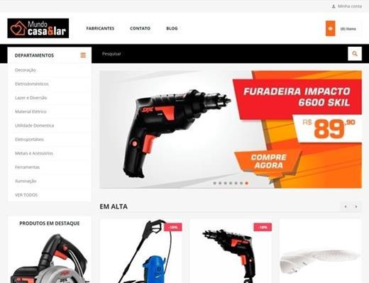 e-commerce - Mundo Casa & Lar