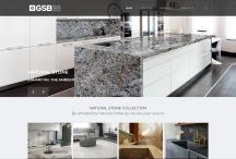 GSB Granite: Website criado pela ALDABRA