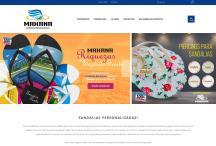 Sandálidas Mahana: Website criado pela ALDABRA