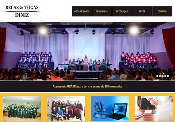 imagem site Becas e Togas Diniz